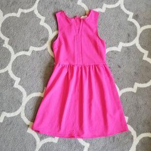 Everly | hot pink dress